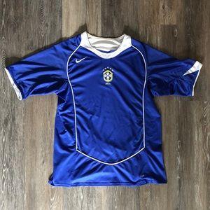 Rare Brazil Away Jersey 2004 by Nike